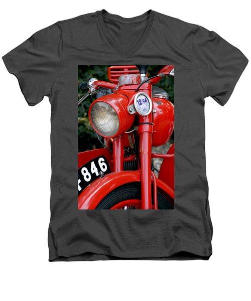 All Original English Motorcycle Men's V-Neck T-Shirt