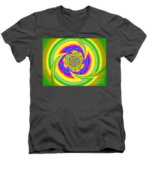 All The Colours Men's V-Neck T-Shirt
