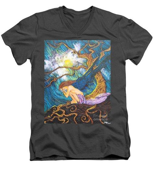 Allayah Men's V-Neck T-Shirt