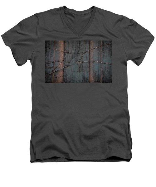 Almost Ivy Men's V-Neck T-Shirt by Ray Congrove