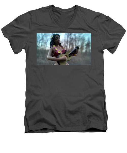 Aloha Men's V-Neck T-Shirt