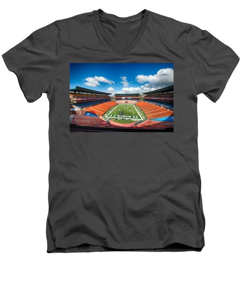 Aloha Stadium Men's V-Neck T-Shirt
