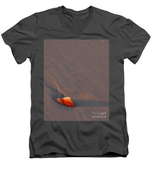 Alone Men's V-Neck T-Shirt by Liz Masoner