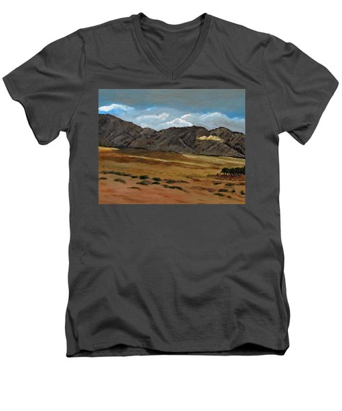Along The Way To Eilat Men's V-Neck T-Shirt