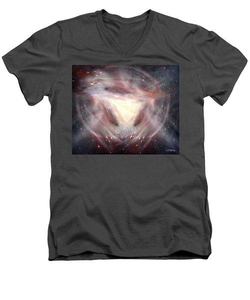 Alpha And Omega Men's V-Neck T-Shirt by Bill Stephens