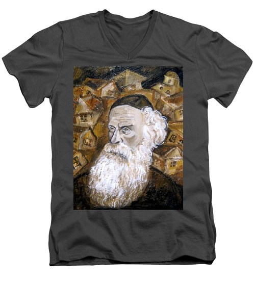 Alter Rebbe Men's V-Neck T-Shirt