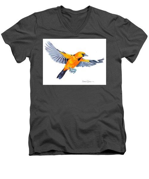 Da200 Altimira Oriole By Daniel Adams  Men's V-Neck T-Shirt