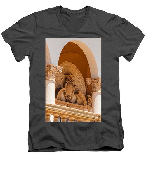 Alto Relievo Coat Of Arms Men's V-Neck T-Shirt