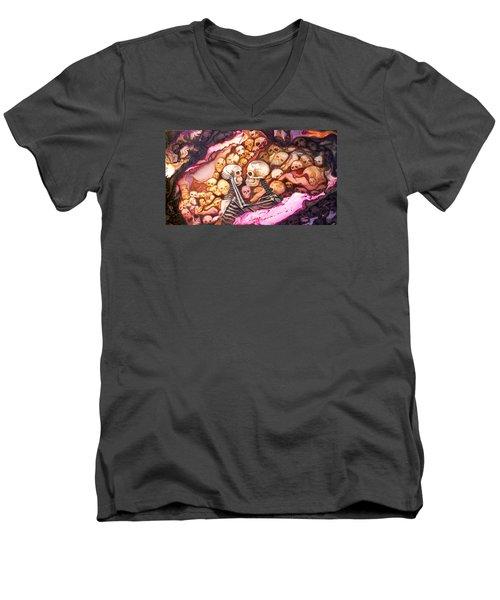 Amar Pa Siempre Men's V-Neck T-Shirt
