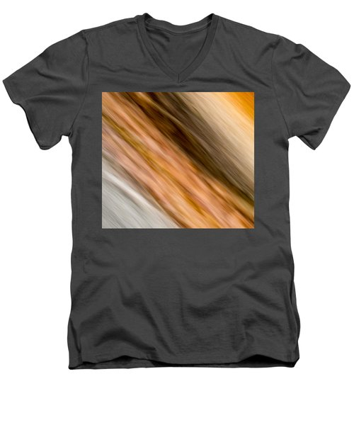 Amber Diagonal Men's V-Neck T-Shirt