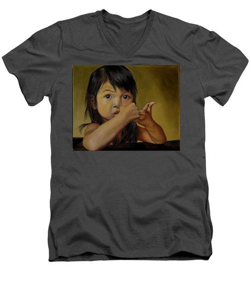 Amelie-an 9 Men's V-Neck T-Shirt