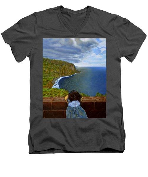 Amelie-an 's World Men's V-Neck T-Shirt