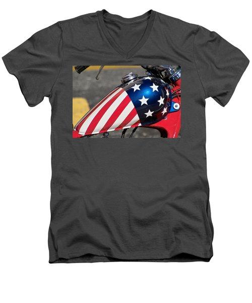 American Motorcycle Men's V-Neck T-Shirt