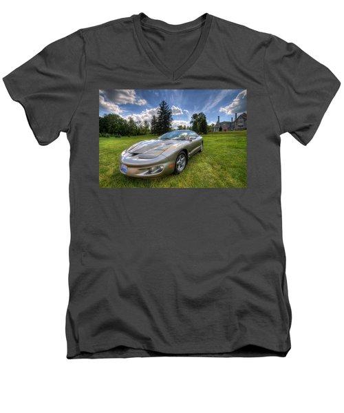 American Musclecar Firebird Men's V-Neck T-Shirt