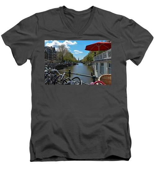 Amsterdam Men's V-Neck T-Shirt