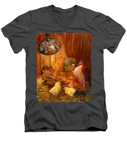 An025 Men's V-Neck T-Shirt
