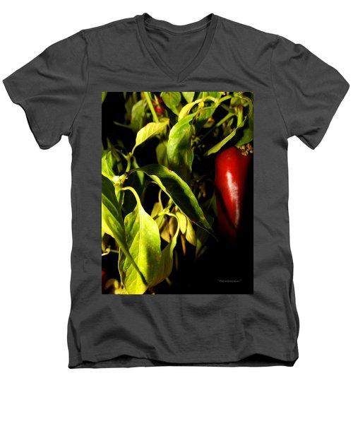 Anaheim Pepper Men's V-Neck T-Shirt