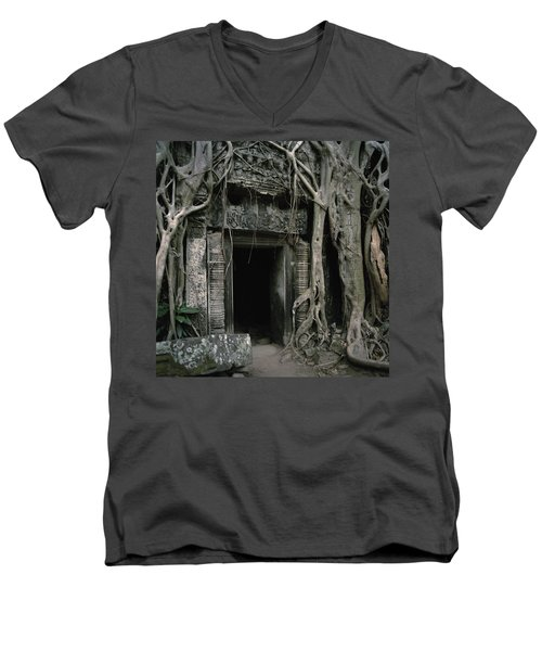 Ancient Angkor Men's V-Neck T-Shirt
