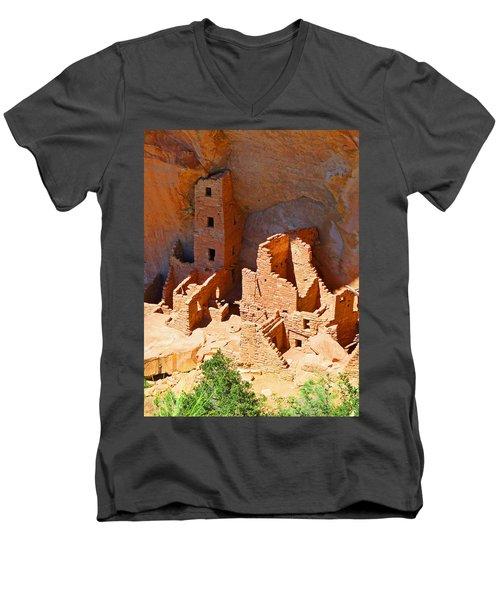 Ancient Dwelling Men's V-Neck T-Shirt