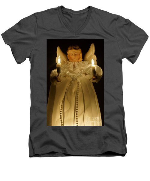 Angel Divine Men's V-Neck T-Shirt