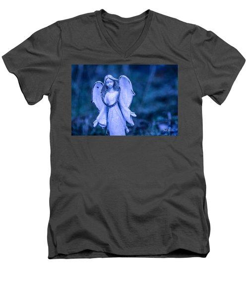 Angel Of The Rain Men's V-Neck T-Shirt