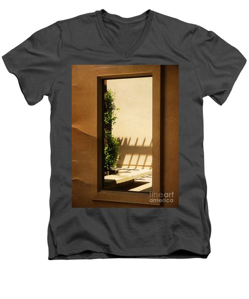 Angled Reflections2 Men's V-Neck T-Shirt