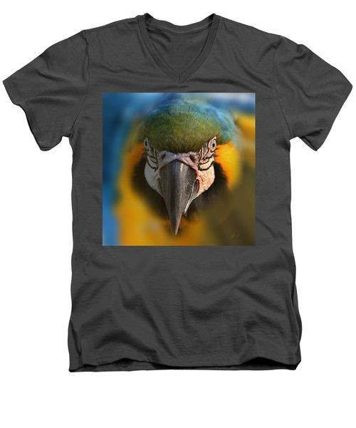 Angry Bird 2 Men's V-Neck T-Shirt