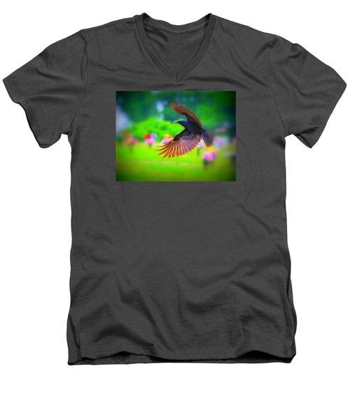 Animal 4 Men's V-Neck T-Shirt