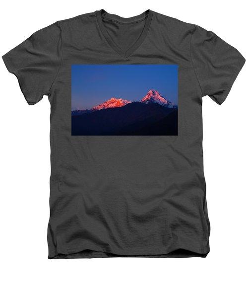 Annapurna South Massif Men's V-Neck T-Shirt
