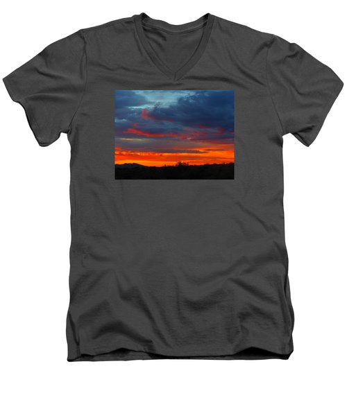 Another Masterpiece Created By The Hand Of Our Creator. Men's V-Neck T-Shirt