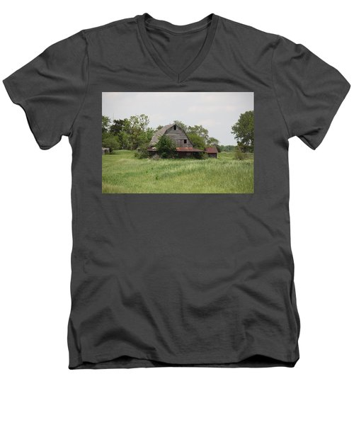 Another Missouri Barn Men's V-Neck T-Shirt