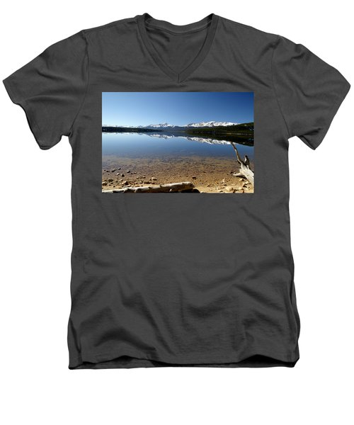 Men's V-Neck T-Shirt featuring the photograph Another Perfect Day by Jeremy Rhoades