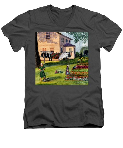 Another Way Of Life II Men's V-Neck T-Shirt by Marilyn Smith