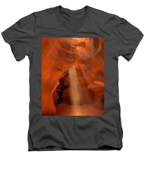 Antelope Canyon Spirit Dance-11 Men's V-Neck T-Shirt