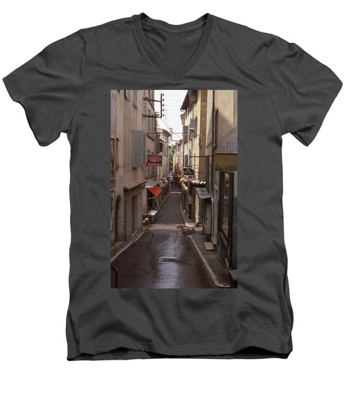 Antibes 76 Men's V-Neck T-Shirt