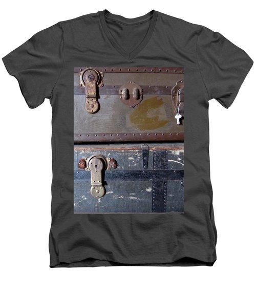 Antique Trunks 5 Men's V-Neck T-Shirt