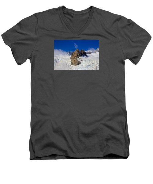 Aoraki Mount Cook Men's V-Neck T-Shirt