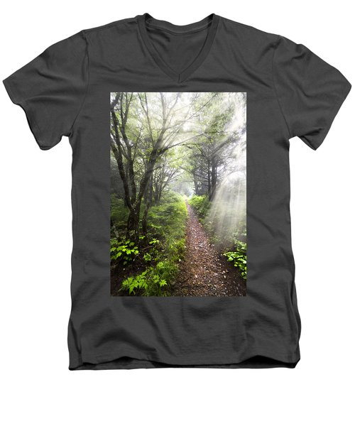 Appalachian Trail Men's V-Neck T-Shirt