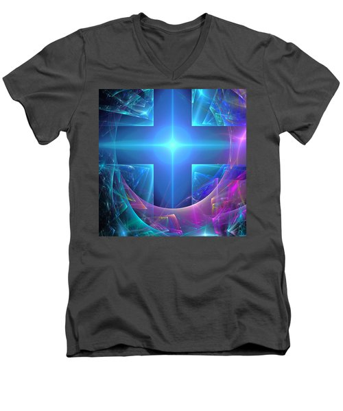 Approaching The Portal Men's V-Neck T-Shirt