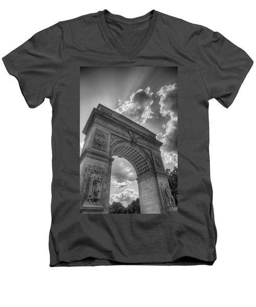 Arch At Washington Square Men's V-Neck T-Shirt