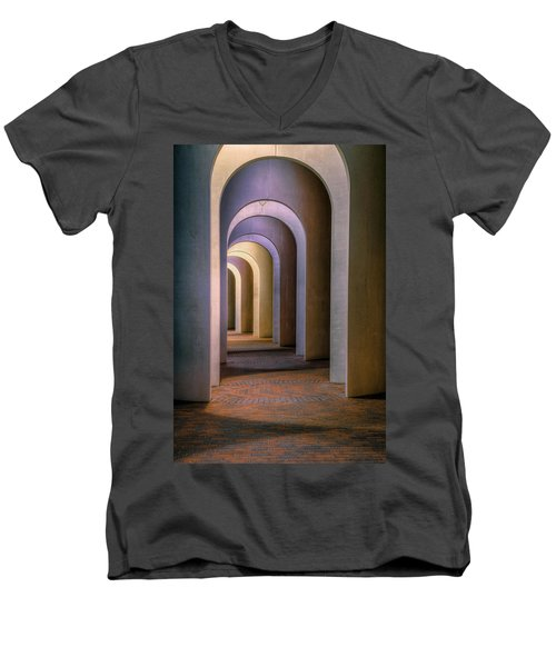 Arches Of The Ferguson Center Men's V-Neck T-Shirt