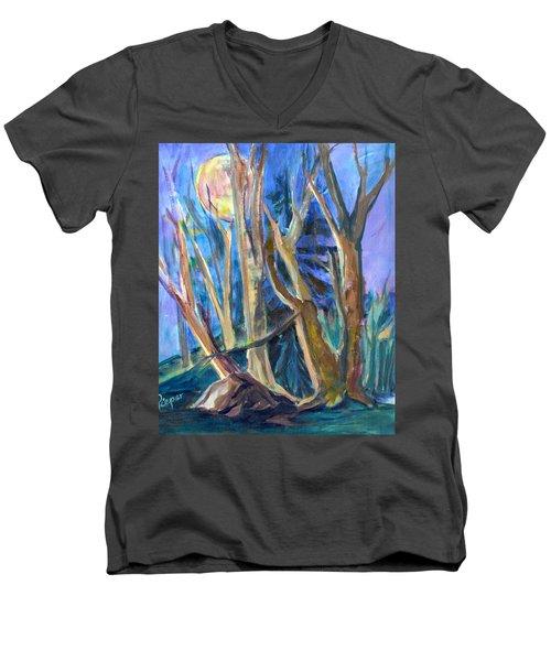 Armageddon Or Twilight Coming Men's V-Neck T-Shirt