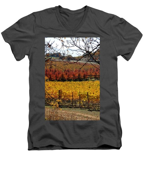 Around And About In My Neck Of The Woods Series 28 Men's V-Neck T-Shirt