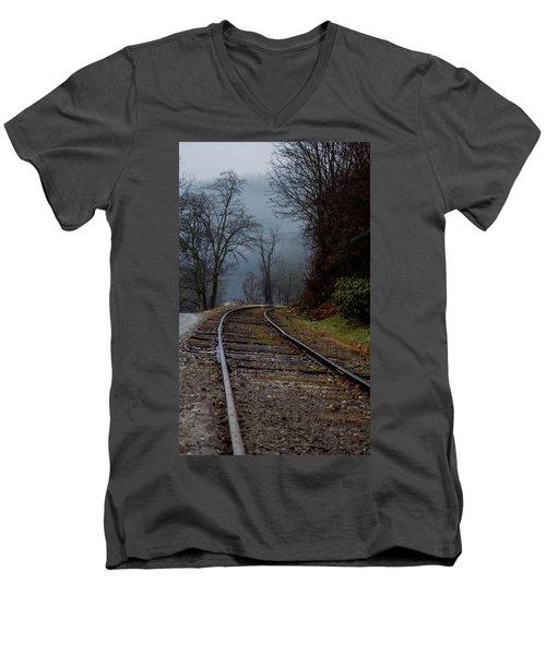 Around The Bend Men's V-Neck T-Shirt