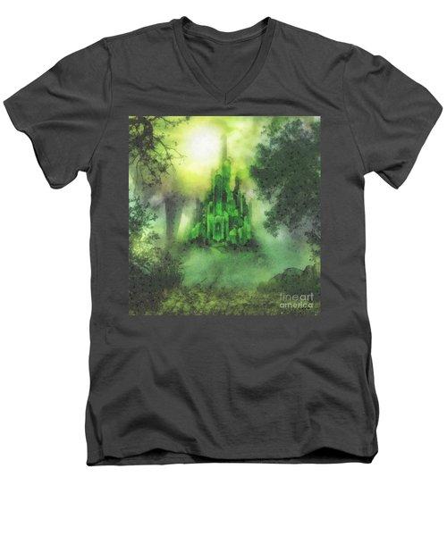 Arrival To Oz Men's V-Neck T-Shirt