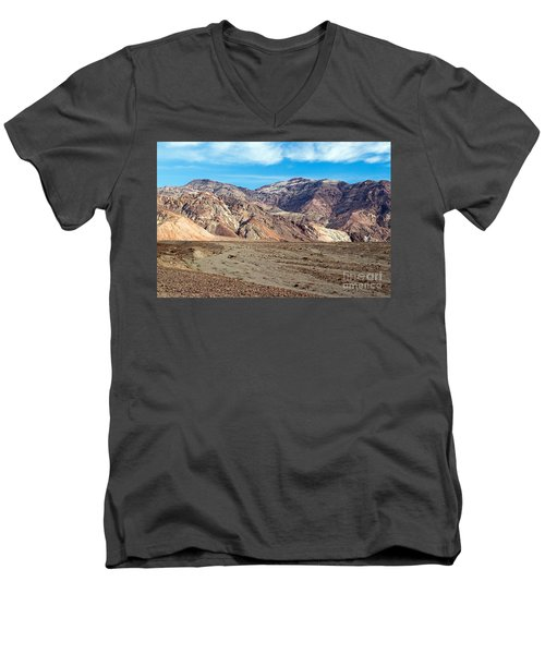 Artist Drive Death Valley National Park Men's V-Neck T-Shirt