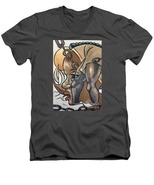 Artists Of Oasis  Men's V-Neck T-Shirt