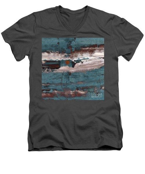 artotem I Men's V-Neck T-Shirt by Paul Davenport
