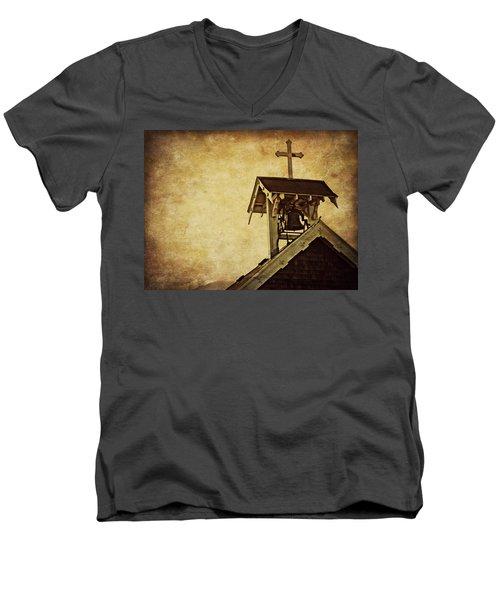 As The Bell Tolls  Men's V-Neck T-Shirt