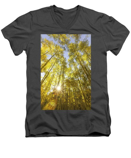 Aspen Day Dreams Men's V-Neck T-Shirt